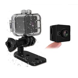 China New 155 Degrees Wide Angle Mini DV Waterproof Sports 1080P 720P HD DVR Portable Camera with Infrared Night Vision Motion Detection Nanny Cam cheap hd infrared wide angle camera suppliers