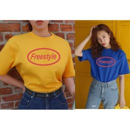 Discount hip hop fashion uk - 5 Colors Hip Hop Tees T Shirts Men Women Print Cotton 2018 Clothing UK US CA in stock XS-3XL Freestyle