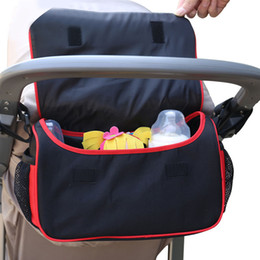Wheelchair Stroller Canada - Baby Stroller Bag General Stroller Cart Organizer Bag For Wheelchairs Stroller Accessories Baby Carriage Bag For Momer