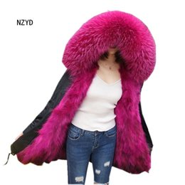 longest yard 2018 - Winter Women Overcoat 2017 New Fashion Hooded Thick Warm Medium long Artificial Fur Coat Long sleeve Loose Big yards Jac