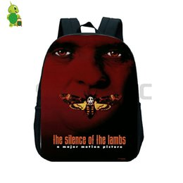 Chinese  The Silence of The Lambs Hannibal Backpack Toddler School Bag for Kids Boys Girls Primary Kindergarten Backpack Preschool Bags manufacturers