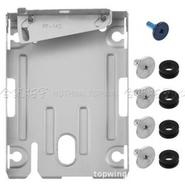 $enCountryForm.capitalKeyWord NZ - Hard Disk Drive bays Base Tray HDD Mounting Bracket Support for Sony Playstation 3 PS3 PS 3 Super Slim 4000 With Screws