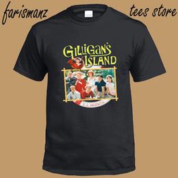 Show Shirt NZ - Shirt Sale Men's Christmas O-Neck New Gilligan's Island Famous Retro TV Show Men's Black T-Shirt Size S-3XL Short-Sleeve Shirt