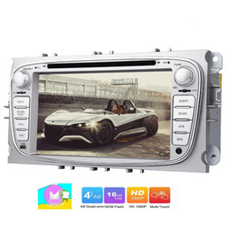 Touch Screen 2din Car Dvd Australia - EinCar for Focus 7'' Stereo car DVD Player Android 6.0 Marshmallow Double 2Din Car Naviagtor GPS Map Data Screen Mirroring Backup Camrea