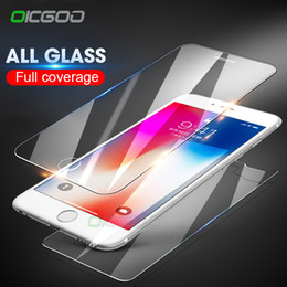 $enCountryForm.capitalKeyWord Australia - 2Pcs Front & Back Tempered Glass For iPhone X 10 6 6S 7 8 Plus 5 5s SE Screen Protector Rear Glass For iPhone 8 7 6s Film