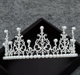 $enCountryForm.capitalKeyWord NZ - Cake baking, crown alloy drill, hoop highlight, Pearl Princess Crown, bridal ornament, birthday decorating headwear.