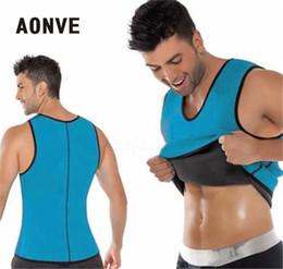 ac4e2662d Aonve Body Shaper Man Slimming Belt Belly Men Slimming Vest Abdomen Side  Zip Corset Neoprene Sweat Waist Trainer Male Plus Size