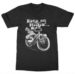 $enCountryForm.capitalKeyWord Australia - Keep on Ridin' T-Shirt Bikeed Pedal Ride Cycle Spin Gear Wheel Saddle Bicycle Race
