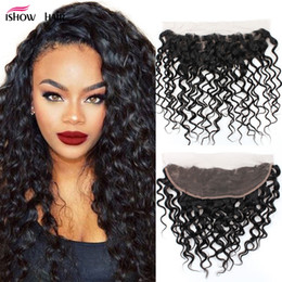 Peruvian unProcessed virgin bundles closure online shopping - Unprocessed A Peruvian Water Wave Frontal Closure With Bundles Ear To Ear Lace Frontal Closure With Bundles Brazilian Virgin Human Hair