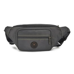 $enCountryForm.capitalKeyWord UK - Fashion Men Solid Shopping Waist Packs!All-match Casual Male riding chest pockets Versatile Casual Oxford mobile&change Carrier