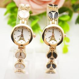 $enCountryForm.capitalKeyWord NZ - Paris Tower Women's Bracelet Watch