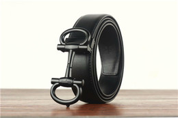$enCountryForm.capitalKeyWord Australia - NEW hot brand belts for women men Fashion designer Genuine cow leather luxury Buckle belt Jeans English letter buckle printing