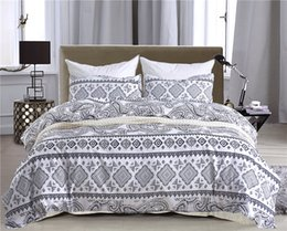$enCountryForm.capitalKeyWord Canada - New White Black Geometric Design Bedding Set Of 2PC 3PC Duvet Cover Set Quilt Cover & Pillowcase Twin Queen King Size