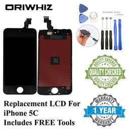 Wholesale iphone 5c for sale - Group buy ORIWHIZ Bulk Price Quality for iPhone C LCD Touch Screen Digitizer Assembly Black and White Color Perfect Packing Fast Shipping