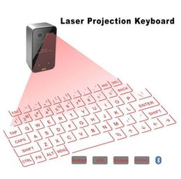 Discount wireless keyboard for smartphone - New Bluetooth Virtual Laser Projection Keyboard with Mouse Function for Smartphone PC Laptop Portable Wireless Keyboard