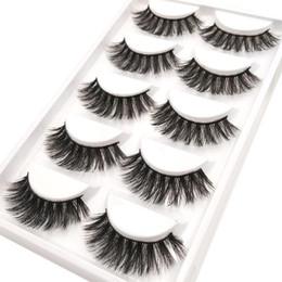 31976844e1f YOKPN New Real 3D Mink Eyelashes Multilayer Thick False Eyelashes High  Quality Long Fake Eye Lashes Stage Makeup Lashes Tool