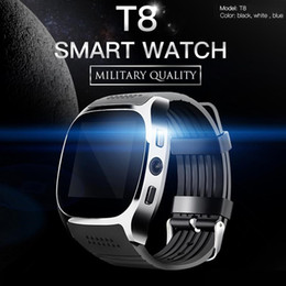 $enCountryForm.capitalKeyWord NZ - T8 Bluetooth Smart watch Support SIM TF Card With Camera Music Player Facebook Whatsapp Sync SMS Smartwatch for IOS Android Retail Package