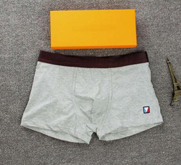 Women mens underWear online shopping - esigner Boxer Brief For Man letter print Sexy Underwear Mens Boxers Cotton Underwears Shorts With Box