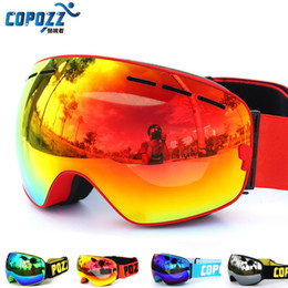 $enCountryForm.capitalKeyWord Canada - COPOZZ brand ski goggles double layers UV400 anti-fog big ski mask glasses skiing men women snow snowboard goggles GOG-201 Pro