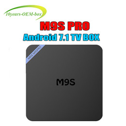 $enCountryForm.capitalKeyWord Australia - Hot M9S PRO TV Box Smart Android 7.1 RK3229 Quad Core 1GB 8GB EMMC Flash WiFi 4K 3D HDMI 2.0 Media Player BETTER MXQ PRO S905W 4K
