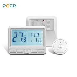Programmable thermostat heating online shopping - Thermoregulator programmable wireless room digital wifi thermostat for boiler warm floor water heating controlled with phone