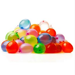 Children Trolley Wholesale Canada - 500 Kids Children Funny Magic Water Balloons Bunch O Water Bombs Refill Kit Tools