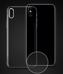 Clear Gel Iphone Cases NZ - Transparent Case for iPhone X 8 7 6 6S Plus Soft Gel TPU Case Clear Back Cover for Samsung note 8 S8 S8Plus