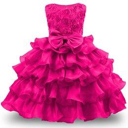 $enCountryForm.capitalKeyWord UK - Baby Girl Dress For Girls 2017 Formal Princess Costumes Children Wedding Dress Tulle Puffy Kids Party Dresses for Girls Clothing