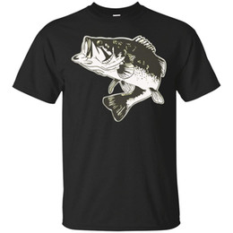 best basses UK - Largemouth Bass Fishing Quote Best Gifts Tee T-shirt For Men Short Sleeves Cotton T Shirt Free Shipping Top Tee