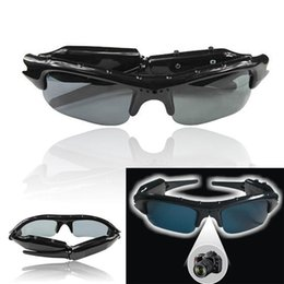 Digital Sd Video Camera NZ - Unisex Smart Digital Camera Sunglasses HD Glasses Mountain Bike Riding Sunglasses Eyewear DVR Video Recorder Insertable SD Card