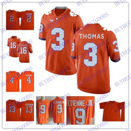 Chinese  NCAA Clemson Tigers College Football Trevor Lawrence Hunter Renfrow DeShaun Watson Travis Etienne Kelly Bryant Clemson Jersey manufacturers
