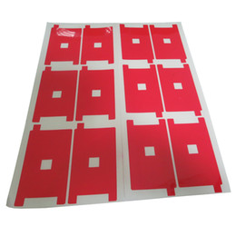 100 iphone UK - Red LCD Backlight Sticker Back Sticker Adhesive Film For iPhone 5G 5S 5C Repair 100 Pcs lot