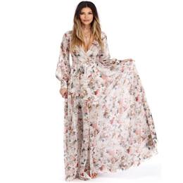 c6d028fb4 Vestido de maternidad para sesión de fotos Vestido de boda Maxi Vestidos  Mujeres embarazadas Con cuello en v Vestido largo de gasa Apoyos de la  fotografía ...