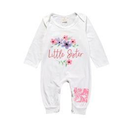 ee5a3ed73 Hip Hop Ropa de bebé unisex Mamelucos para bebés Mono de algodón de manga  larga Recién nacido Baby Boy mamelucos trajes KS-037 combinación