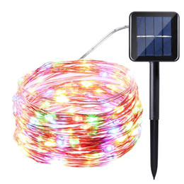 Garden Led Strip Lights 2018   LED Copper Wire Solar LED String Lamp Fairy  Holiday Light