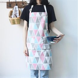 d1334423833 Kitchen Linens Aprons Australia - Japan Style Cotton Linen Apron Kitchen  Home Brief Beautiful Cleaning For