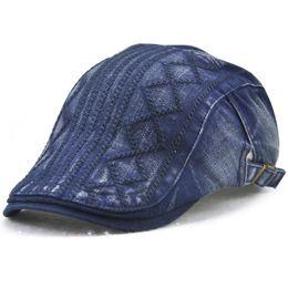 Cotton Flat Cap Newsboy Ivy Irish Cabbie Scally Driving Caps Sun Duckbill  Hats Men s Women s Beret Outdoor Sports Vintage Adjustable 12624 2544ce15a2e8