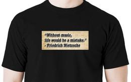 $enCountryForm.capitalKeyWord Australia - China Style Fashion Rock Without music... Nietzsche quote music musician keyboard gig shirt piano guitar Hot Sale Casual Clothin