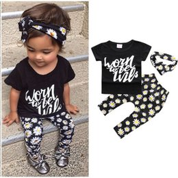 $enCountryForm.capitalKeyWord NZ - 2-7Y Girls Clothing Sets Children 2018 Summer Fashion Leopard Print Short Sleeve T shirt+Pants 2Pcs Suits Baby Girl Clothes Kids