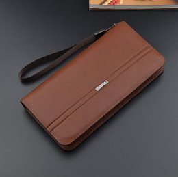$enCountryForm.capitalKeyWord NZ - Factory wholesale brand bag gentleman style multifunctional leather wallet card business are long wallet fashion leather hand Wallet
