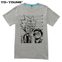 893f346e9 Yo -Young Brand Rick And Morty Bad Rick Men T -Shirts Funny Design Digital  Printing 100 %Cotton Casual Top Tees Homme Customized