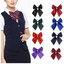 Bowties For Women Australia - Fashion Bow Ties for Women Bowties Ladies Girls Trendy Style Bow Knot Neck Tie Cravat Casual Party Banquet Bow Tie NEW