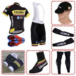 COLOMBIA team Cycling Jerseys MTB Ropa Ciclismo cycling clothing mens  bicycle Maillot full set cycling equipment 110702F ecb32f606