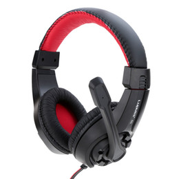gaming computers 2018 - 3.5mm Headband Earphone Gaming Headset Gamer PC Headphones Gamer Stereo Gaming Headphone With Microphone Led For Compute