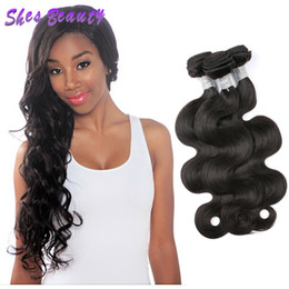 $enCountryForm.capitalKeyWord NZ - 2018 New arrival Indian Human Hair 3 Bundles 10A Indian Body Wave Remy Hair 100% Good Quality Human Hair Weave Bundles