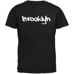 $enCountryForm.capitalKeyWord UK - New York City Brooklyn Graffiti Black Adult T-Shirt Funny free shipping Unisex Casual tee gift