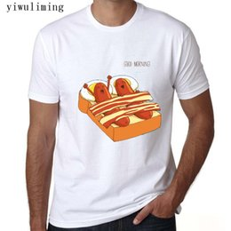 food t shirts Australia - Easy Storm New 2016 Summer T-Shirt Men Lose Letter Print T Shirt Men Zombies Hate Fast Food White Brand Tees For Male Size S-3XL