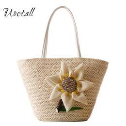 straw handbags totes 2018 - Uoct.all beach bag women handbags Bohemian women  travel bags a30157358464b