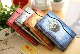 harry potter books 2019 - Vintage Harry Potter notepads Retro paper Magic Diary Book Notepad Magnet Notebook office school supplier student paper