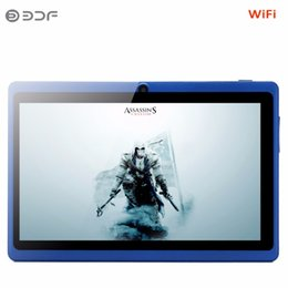7 Wifi Tablet Australia - 7 Inch kids tablet Android 4.4 tablet pc wifi dual camera LCD Quad Core kids tactile infantil Children's gifts
